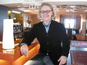 Florian Gartner, Inhaber des Hotels Gartner