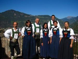 Die Kaseralm-Sänger treten in Toblach für einen guten Zweck auf