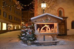 Nirgendwo sonst in Südtirol hat die Holzschnitzerei so viel Tradition wie im Grödnertal - in der Weihnachtszeit vor allem die Weihnachskrippen.