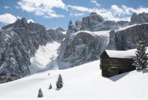 Schroff und unnahbar: Die Gipfel des Badia.