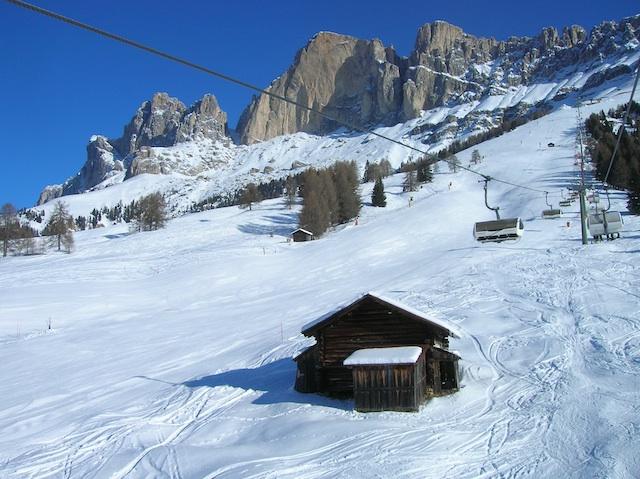 Carezza: Skifahren in König Laurins Reich; Foto:Heiner Sieger