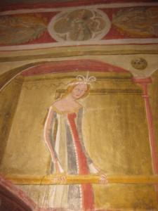 Auf Schloss Runkelstein entstand ab 1388 unter Niklaus Vintler der größte profane Freskenzyklus des Mittelalters. Foto: Heiner Sieger