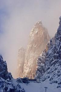 Majestät der Dolomiten: Der Langkofel. Lieblingsgipfel Luis Trenkers, Foto: Heiner Sieger