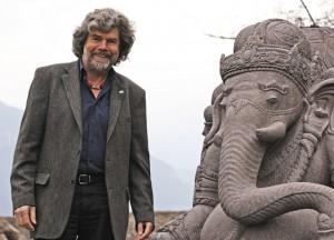 Reinhold Messner tritt für die Schmetterlingskinder auf, Foto: Hans-Joachim Bittner