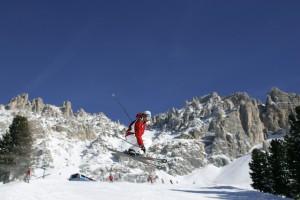 Die Skigebiete rund um den Latemar bieten schon jetzt beste Bedingungen für ambitionierte Skifahrer: Foto: Paolo Codeluppi