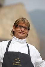 Haubenkoch Jörg Trafoier vom Restaurant Kuppelrain in Kastelbell im Vinschgau; Foto MGM:Frieder Blickle