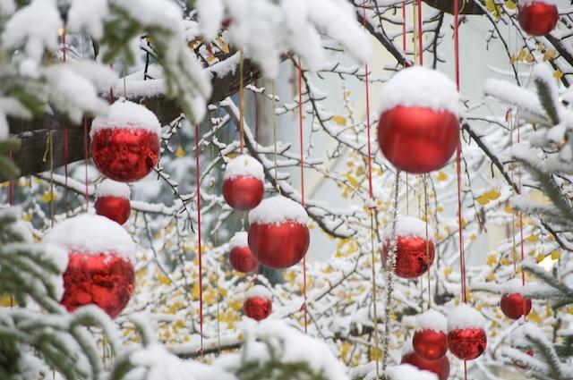 Weihnachtsmarkt Bozen,Dekoration im Palais Campofranco, Foto: Verkehrsamt Bozen