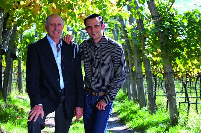 Weinbauern von Format: Toni (li.) und_Hannes Rottensteiner