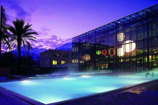 Das Hotel Therme Meran ist das einzige Haus mit direktem Zugang zur Therme. Foto: Hotel Treme Meran