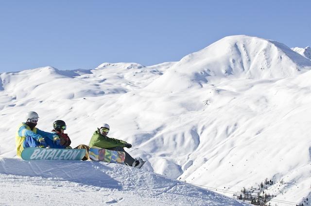 Das Rojental am Reschenpass zählt zu den schneesichersten Gebieten im Südtiroler Vinschgau; Foto: Vinschgau Marketing/Frieder Blickle