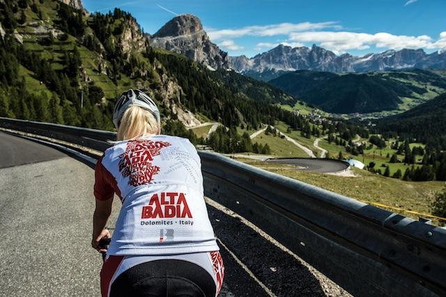 Mit dem Mountainbike rund um die Sella-Gruppe, Foto: Paola