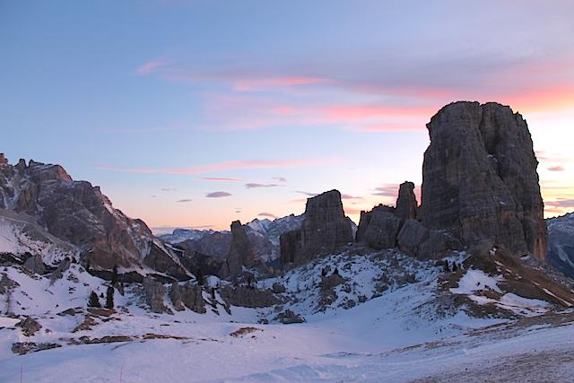 Cortina plant mit einem Lift zu den Cinque Torri den Anschluss an die Sella-Ronda; Foto: Heiner Sieger