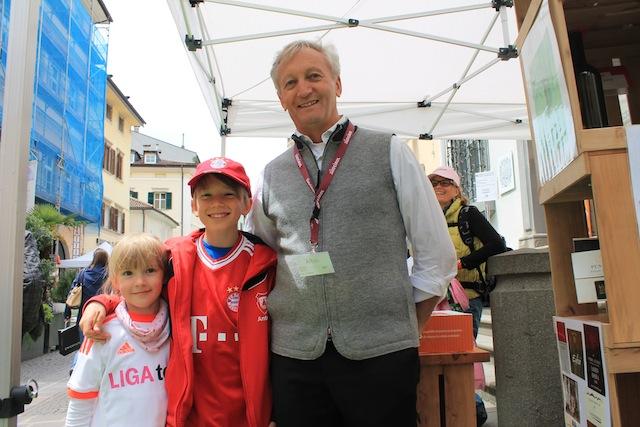 Südtiroler Genussbotschafter Albin Thoen:, Foto: Heiner SIeger