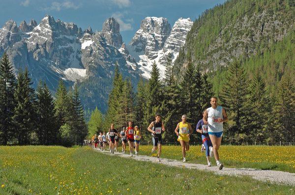 Bereits Kult ist der Cortina-Toblach-Run. Foto: Cortina Tursimo
