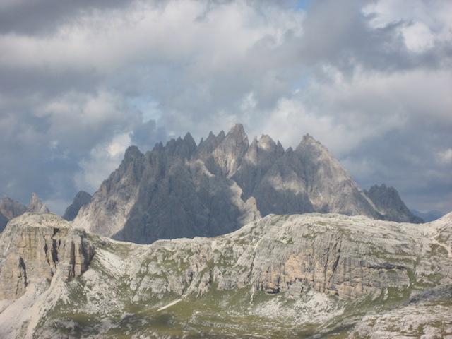 Blick auf den Monte Christallo; Bild: Heidi Kjaer, eigenes Foto