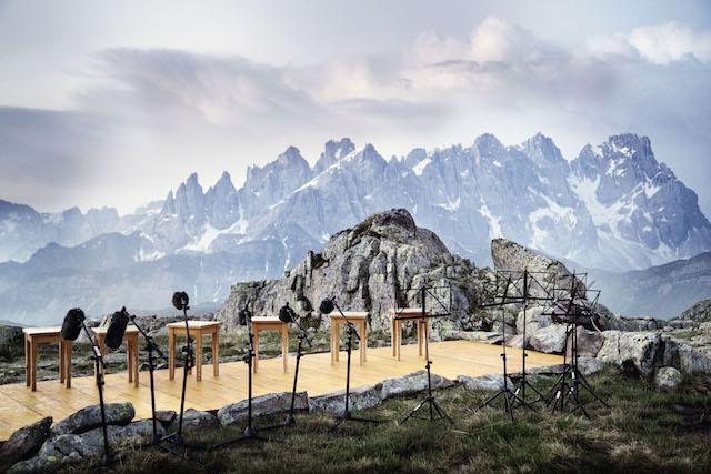 Nur zu den Füßen wilder Dolomitengipfel erreicht Musik ihre wahre Bestimmung, Foto: Trentino Marketing, Danile Lira