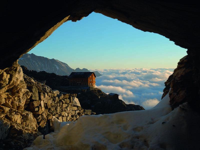UNterwegs auf dem Meraner Höhenweg: Vom Eisjöchl zur Stettiner-Hütte, Foto: TV Meraner Land