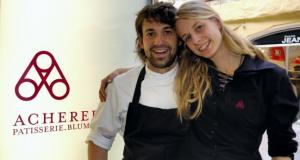 Patisier aus Leidenschaft: Andreas Acherer und Ehefrau Barbara; Foto: www.franzmagazine.com