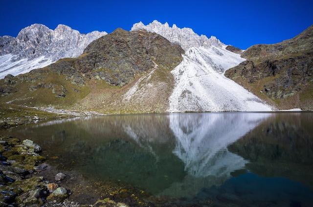 Der 7-Seen-Rundweg bei Ridnaun ist eine Herausforderung für geübte Wanderer, Foto: Tourismusverein Ratschings