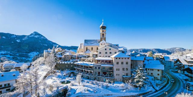 Winterzauber und Dolomitenemotionen in Völs am Schlern, Foto: Belvita Hotel Turm