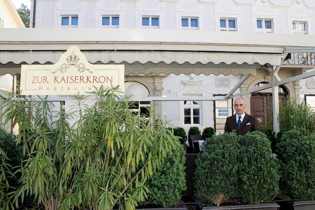 """Wer Spargel auf höchsten Niveau genießen möchte, kommt in Bozen nicht am Restaurant """"Kaiserkron"""" von Roberto Wieser vorbei, Foto, Heiner Sieger"""