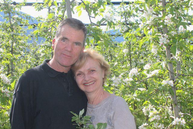 Peter und Magdalena Thuile, Sandwiesenhof; Foto: Heiner Sieger/schönessüdtirol.de