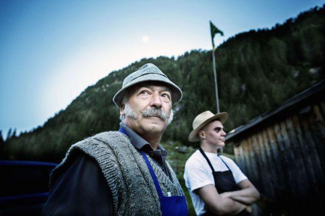 Auf der Sadole-Alm im Val di Fiemme; Foto Daniele Lira