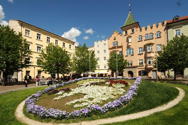 Optischer Leckerbissen: Der Domplatz mit Rathaus.
