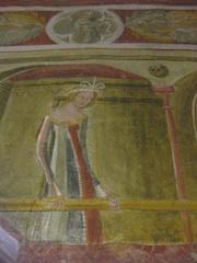 Schloss Runkelstein beherbergt Europas best erhaltenen profanen Freskenzyklus; Foto: Heiner Sieger