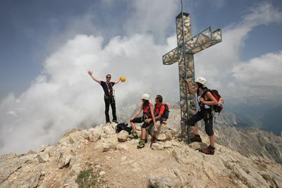 Gerade für Jugenliche hat Südtirol viel zu bieten. Foto: Tourismusverein Deutschnofen