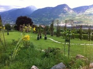 Der Kränzel-Garten bietet immer wieder wunderschöne Impressionen, Foto: Heimner Sieger