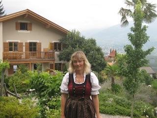 Marlene Platter, die Seele des Obergluniger Hofs, Foto: Heiner Sieger