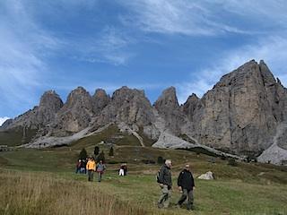 Grödnertal: Bestens geeignet für gesundes Wandern, Foto: Heiner Sieger