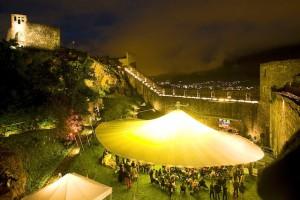 Jazz-Genuss an außergewöhlich schönen Orten gehört seit je her zum Konzept des Südtirol Jazz-Festivals; Foto: SJF