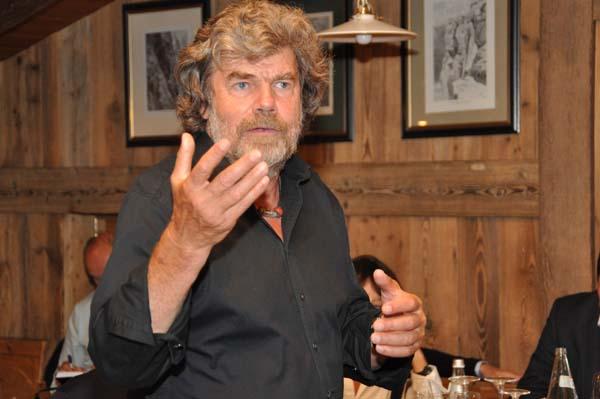 Reinhold Messner - sein Vermächtnis sind die fünf Messner Mountain Museen in Südtirol. Foto: Ötztal Tourismus