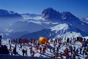 Gardenissima - Zum 17. Mal gehen am 6. April Skifahrer in Gröden beim legendären Volks-Riesenslalom Gardenissima an den Start
