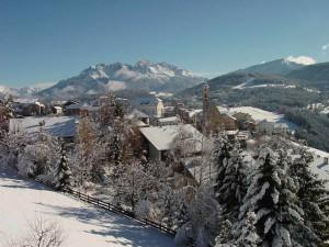 Deutschnofen ist eine reizende Gemende mit etwa 4000 Einwohnern; von Bozen aus sind es nur 20 Autominuten. - Foto: Eggental Tourismus