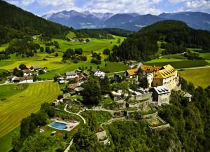 Ein außergewöhlicher Kraftplatz, dessen besondere Energie man auch heute noch spürt; Foto: Hotel Schloss Sonnenburg