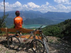 Die Mountainbike-Woche führt von Tramin zu den schönsten Plätzen Südtirols.