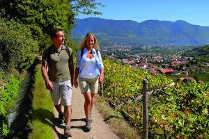Algunder Wanderparadies auf der Sonnenseite der Alpen