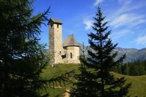 Kirche am Vigiljoch bei Lana, Foto Lana und Umgebung