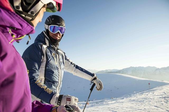 Skifahren im Eisacktal; QuelleTourismusverband Eisacktal; Fotograf Alex Filz