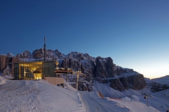 Bergstation Dantercepies; Foto:DolomitiSuperSki