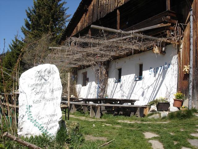 Beim Seppila gibts nur hausgemachte Südtiroler Spezialitäten; Foto: Georg Weindl