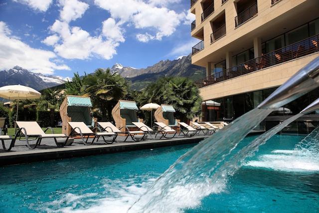 Ausgangspunkt für schöne Ausflüge: Hotel Therme Meran