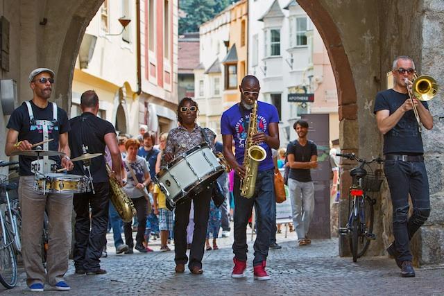 """Wo die """"falschen Brüder"""" auftauchen, ist beste Jazz-Stimmung angesagt, Foto: G.Pichler"""