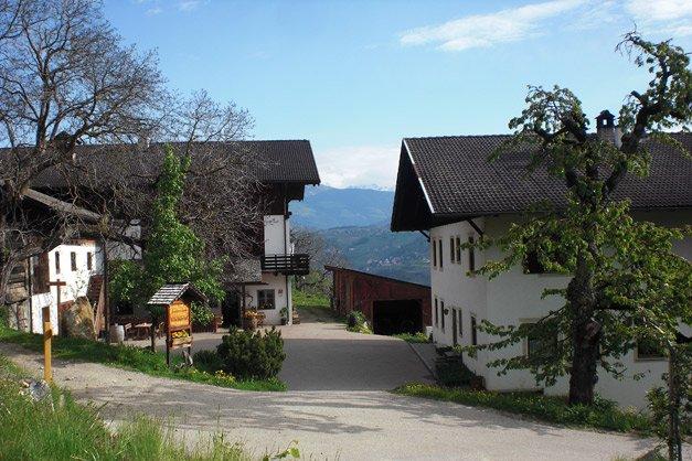 Gläser statt Kuhglocken klingen heute im früheren Kuhstall des Villscheider Hofs, Foto: Roter Hahn