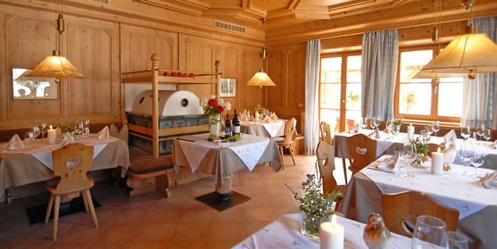 Einfach, gut, geradlinig und ehrlich ist die Gasthausküche im Restaurant Haller am Sonnenhang von Brixen; Foto: Restaurant Haller