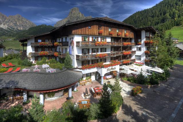 Hotel LaPerla in Corvara, Alta Badia