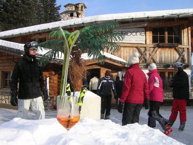 Baita Gardoné - einer der schönsten Hütten der Dolomiten, Foto: Heiner Sieger